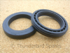 "Fork Seals, Triumph T140/TR7, TSS, TR65, 1978-1983, 97-7079, ""Leakproof"" type."